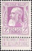 [King Leopold II. New issue, Typ AM]