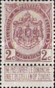 [As 1893 issue but no print between stamp and coupon, Typ AN1]