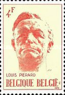 [the 21st Anniversary of the Death of Louis Piérard, Typ AQP]