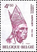 [The 50th Anniversary of the Death of Cardinal Mercier, Typ ATZ]