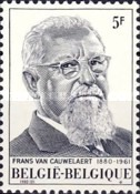 [The 100th Anniversary of the Birth of Frans van Cauwelaert, type AZP]