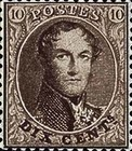 [King Leopold I - Perforated, Typ B19]