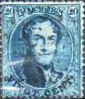[King Leopold I - Perforated, type B20]