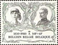 [The 150th Anniversary of Belgium Independence, type BAD]