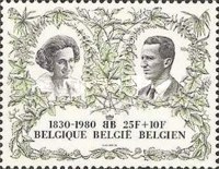 [The 150th Anniversary of Belgium Independence, type BAF]