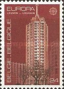 [EUROPA Stamps - Modern Architecture, Typ BJO]