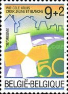 [The 50th Anniversary of the Yellow-white Cross, Typ BKG]