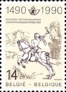 [The 500th Anniversary of European Mail Delivery, Typ BNJ]