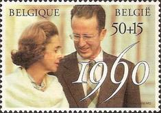 [The 30th Wedding Anniversary of King Baudouin and Queen Fabiola, Typ BPA]