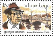 [The 5th Anniversary of Georges Simenons Death - Writer and Journalist, Typ BVU]