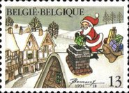 [Christmas - and New Year Stamp, Typ BVW]