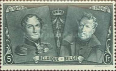 [The 75th Anniversary of the First Belgian Stamp, Typ BW11]
