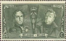 [The 75th Anniversary of the First Belgian Stamp, Typ BW3]