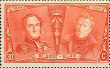 [The 75th Anniversary of the First Belgian Stamp, Typ BW4]