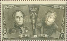 [The 75th Anniversary of the First Belgian Stamp, Typ BW6]