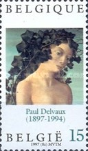 [The 100th Anniversary of Paul Delvaux Birth, Typ CAC]