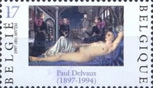 [The 100th Anniversary of Paul Delvaux Birth, Typ CAD]