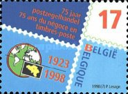 [The 75th Anniversary of the Belgian Stamp Dealer Society, Typ CCC]