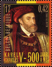 [The 500th Anniversary of the Birth of Emperor Karl V, Typ CHE]