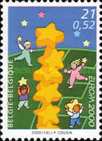 [EUROPA Stamps - Tower of 6 Stars, Typ CIL]