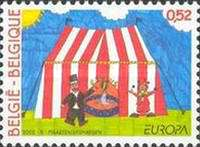 [EUROPA Stamps - The Circus, Typ CNI]