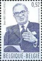 [The 100th Anniversary of the Birth of Jean Rey, 1902-1983, Typ COK]