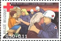 [Red Cross Charity Stamp, Typ CVT]