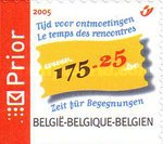 [The 175th Anniversary of Belgium & the 25th Anniversary of the Federation, Typ CXP]