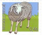 [Farm Animals - Self-Adhesive Stamps - Imperforated on 1 or 2 Sides, Typ DCE]