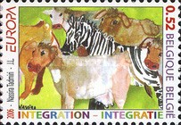 [EUROPA Stamps - Integration Through the Eyes of Young People, Typ DEY]