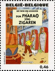 [The 100th Anniversary of the Birth of Hergé, type DHI]