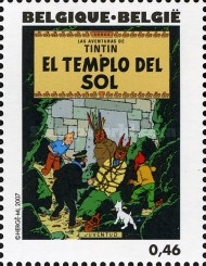 [The 100th Anniversary of the Birth of Hergé, type DHT]