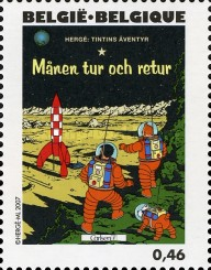 [The 100th Anniversary of the Birth of Hergé, type DHW]