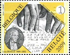 [The 200th Anniversary of the Birth of Louis Braille, Typ DPM]