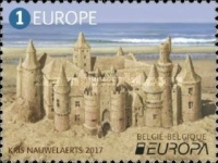 [EUROPA Stamps -  Palaces and Castles, Typ EUE]