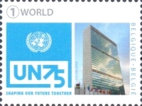 [The 75th Anniversary of the United Nations, type FDB]
