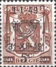 [Overprint of 1936 Series, Typ FM25]