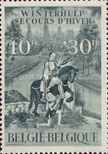 [Charity stamps, Typ KJ]