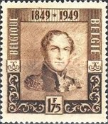 [The 100th Anniversary of the First Belgian Stamp, Typ OQ1]
