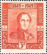 [The 100th Anniversary of the First Belgian Stamp, Typ OQ2]