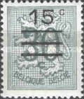 [Stamp of 1957 Surcharged, Typ PV21]