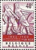 [The 75th anniversary of the Social Democrats, type XX]