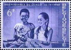 [In memorial of Congo's independence, type YI]
