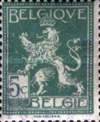 [Postage Stamps Overprinted, type E]