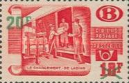 [Mailing,Sorting and Loading Parcel Post Overprinted, Typ YYQ]
