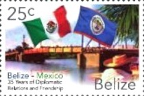 [The 35th Anniversary of Diplomatic Relations with Mexico, type AFR]