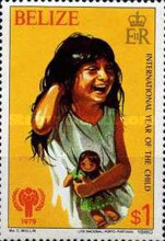 [International Year of the Child, type ET]