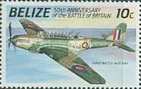 [The 50th Anniversary of the Battle of Britain - Airplanes, type UX]