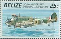 [The 50th Anniversary of the Battle of Britain - Airplanes, type UY]