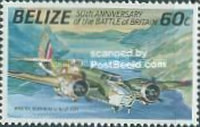 [The 50th Anniversary of the Battle of Britain - Airplanes, type UZ]
